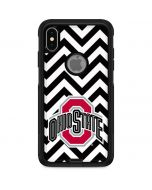 Ohio State Chevron Print Otterbox Commuter iPhone Skin