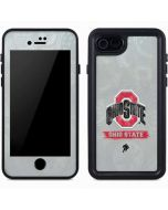 Ohio State Distressed Logo iPhone 7 Waterproof Case