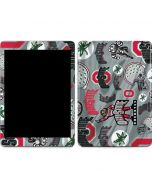 Ohio State Pattern Apple iPad Skin