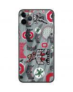 Ohio State Pattern iPhone 11 Pro Max Skin