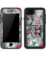 Ohio State Pattern iPhone 7 Waterproof Case