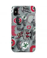 Ohio State Pattern iPhone XS Max Lite Case