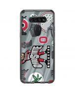 Ohio State Pattern LG K51/Q51 Clear Case