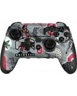 Ohio State Pattern PlayStation Scuf Vantage 2 Controller Skin