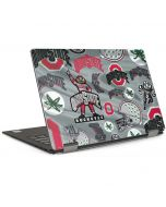 Ohio State Pattern Dell XPS Skin