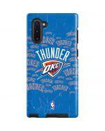 Oklahoma City Thunder Blast Galaxy Note 10 Pro Case
