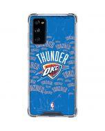 Oklahoma City Thunder Blast Galaxy S20 FE Clear Case