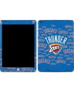 Oklahoma City Thunder Blast Apple iPad Skin