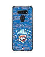 Oklahoma City Thunder Blast LG K51/Q51 Clear Case