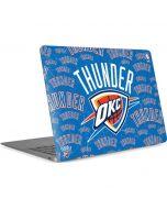 Oklahoma City Thunder Blast Apple MacBook Air Skin