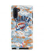 Oklahoma City Thunder Digi Camo Galaxy Note 10 Pro Case