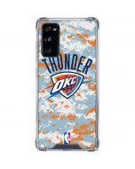 Oklahoma City Thunder Digi Camo Galaxy S20 FE Clear Case