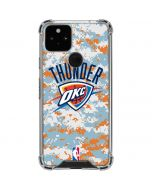 Oklahoma City Thunder Digi Camo Google Pixel 5 Clear Case