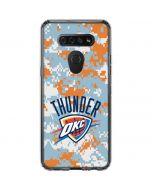 Oklahoma City Thunder Digi Camo LG K51/Q51 Clear Case