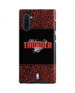 Oklahoma City Thunder Elephant Print Galaxy Note 10 Pro Case