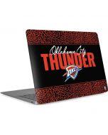 Oklahoma City Thunder Elephant Print Apple MacBook Air Skin