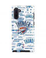 Oklahoma City Thunder Historic Blast Galaxy Note 10 Pro Case