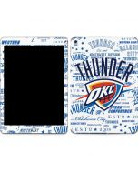 Oklahoma City Thunder Historic Blast Apple iPad Skin