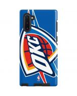 Oklahoma City Thunder Large Logo Galaxy Note 10 Pro Case