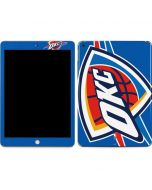 Oklahoma City Thunder Large Logo Apple iPad Skin