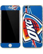 Oklahoma City Thunder Large Logo iPhone 6/6s Skin