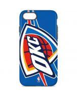 Oklahoma City Thunder Large Logo iPhone 8 Pro Case