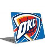 Oklahoma City Thunder Large Logo Apple MacBook Air Skin