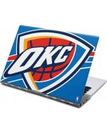 Oklahoma City Thunder Large Logo Yoga 910 2-in-1 14in Touch-Screen Skin