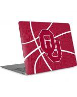 Oklahoma Sooners Basketball Apple MacBook Air Skin