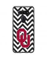 Oklahoma Sooners Chevron LG K51/Q51 Clear Case