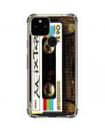 Old Mixtape Google Pixel 5 Clear Case