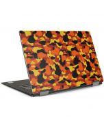 Orange Camo Dell XPS Skin