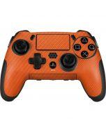 Orange Carbon Fiber PlayStation Scuf Vantage 2 Controller Skin