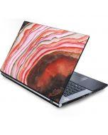 Orange Watercolor Geode Generic Laptop Skin