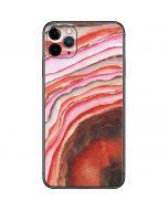 Orange Watercolor Geode iPhone 11 Pro Max Skin