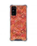 Orange Zen Galaxy S20 FE Clear Case