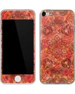 Orange Zen Apple iPod Skin