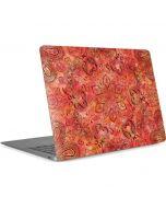 Orange Zen Apple MacBook Air Skin
