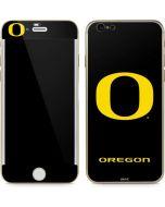 Oregon Ducks Black Gradient iPhone 6/6s Skin