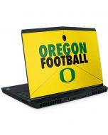 Oregon Ducks Football Dell Alienware Skin