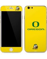 Oregon Ducks Green Gradient iPhone 6/6s Skin