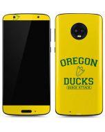 Oregon Ducks Quack Attack Moto G6 Skin