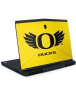 Oregon Ducks Yellow Dell Alienware Skin