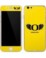 Oregon Ducks Yellow iPhone 6/6s Skin