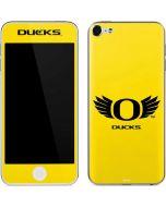 Oregon Ducks Yellow Apple iPod Skin