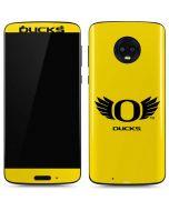 Oregon Ducks Yellow Moto G6 Skin