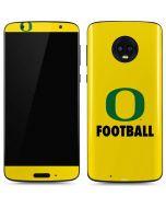 Oregon Football Moto G6 Skin