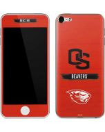 Oregon State Texture Apple iPod Skin