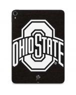 OSU Ohio State Black Apple iPad Pro Skin