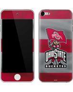 OSU Ohio State Buckeyes Flag Apple iPod Skin